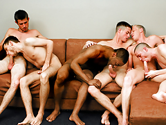 Fellatio Fest Party! The Boys Are Switching Engulfing Assistants