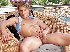 Anthony enjoys playing with his arse and cock in solo scene!