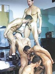 Marcus Iron::Karl Tenner::Nicholas Clay::Fernando Montana::Blake Harper in Man-lover XXX Pics