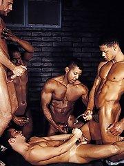 Mitchell Stack::Jack Simmons::Aron Ridge::Tristan Paris::Jason Branch in Gay XXX Images