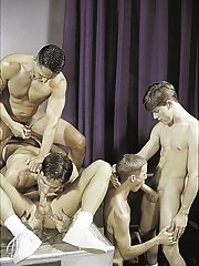 Vince Bandero::Cameron Fox::Nick Steel::Jeremy Jordan::Travis Wade in Gay guy XXX Pictures