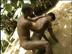 Hardcore brazilian anal in the jungle in 3 movie