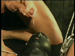 Gay leather and obedience fuck fest in 6 episode