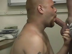Pooch gets dirty in the office with a moist stallion in 2 episode