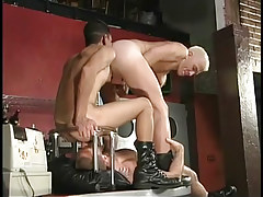 Hairy faggot stripper keen to to gain rimmed in 2 movie scene