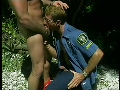 Jerking off perv sucks off 2 cops in 2 episode