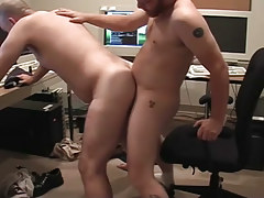 Matured twinks pooch mcgee and david marx learn office place to team fuck in 4 episode