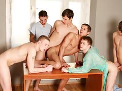 Bareback Hospital Orgy, Scene 02
