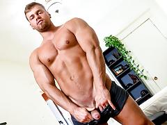 Brad, Huger He Cums, Scene 01