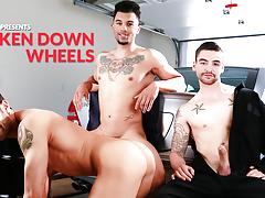 Broken Down Wheels