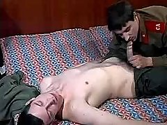 Army male seduces and bonks assistant