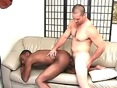 Black gay slummed by gorgeous man
