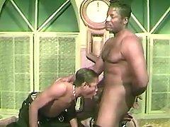 Nasty ebon faggots anal-fucking heavily