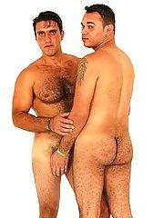 Two beautiful chaps establish rubbing eachother sensuously