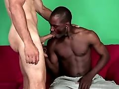 Studly black gets subterranean a-hole massage