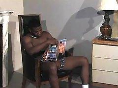 Black gay gets hard waste nailing
