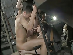 Cute amateur dick-holders screw always other without condoms