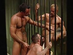 Mature prisoners served by young cellmate