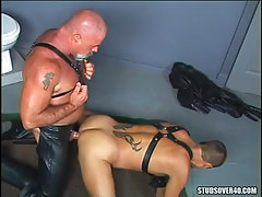 Horny old homo makes love mature partner in doggy style