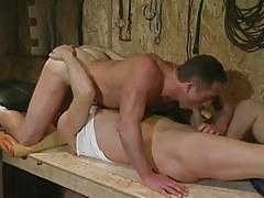 Gay hunks blow dicks in 69 pose