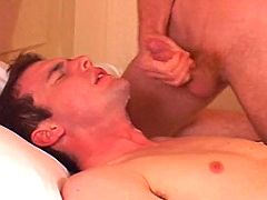 Handsome stud receives good ass nailing and sticky cum